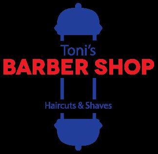 Toni's Barber Shop Logo